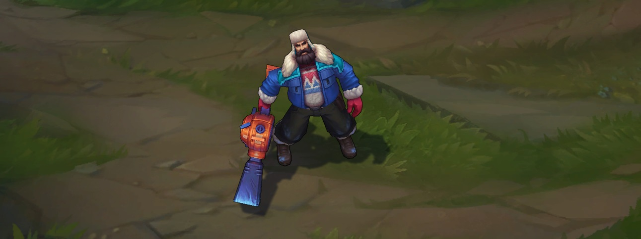 Snow Day Graves Skin