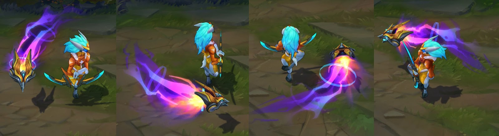 Super Galaxy Kindred skin