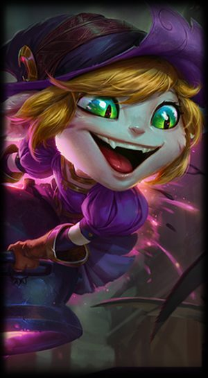 Bewitching Tristana Loading Screen