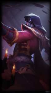 Blood Moon Twisted Fate Loading Screen