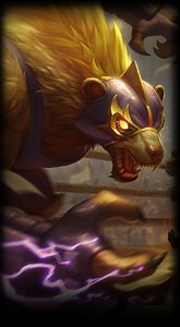 El Rayo Volibear Loading Screen