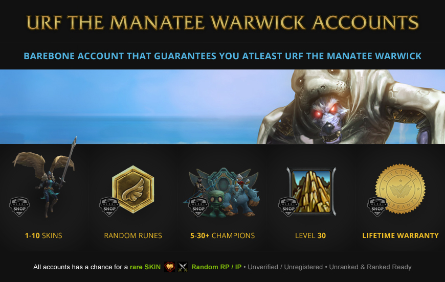 Urf Warwick Accounts League of Legends