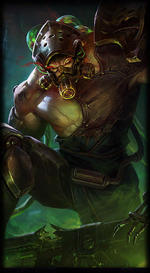 Chemtech Tryndamere loading screen