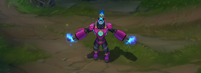 battle boss brand skin for league of legends ingame picture