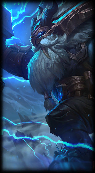 Thunder Lord Ornn loading screen