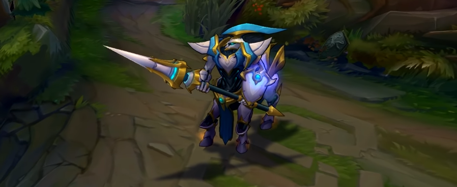 lancer zero hecarim skin for league of legends ingame picture