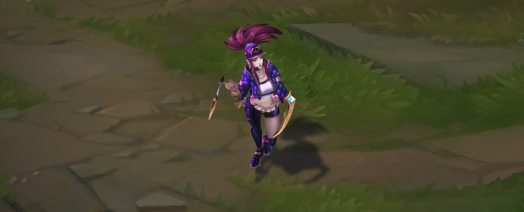 kda akali skin for league of legends ingame picture