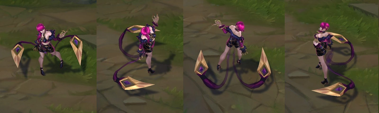 kda evelynn skin for league of legends ingame picture