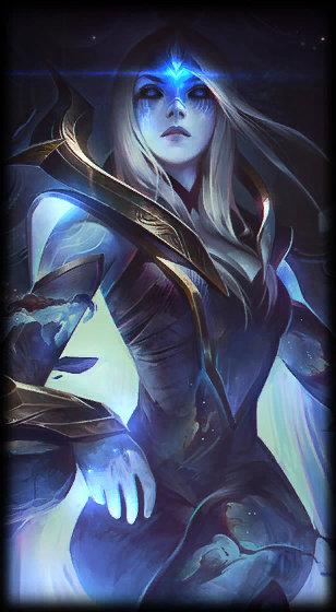 loading screen cosmic queen ashe