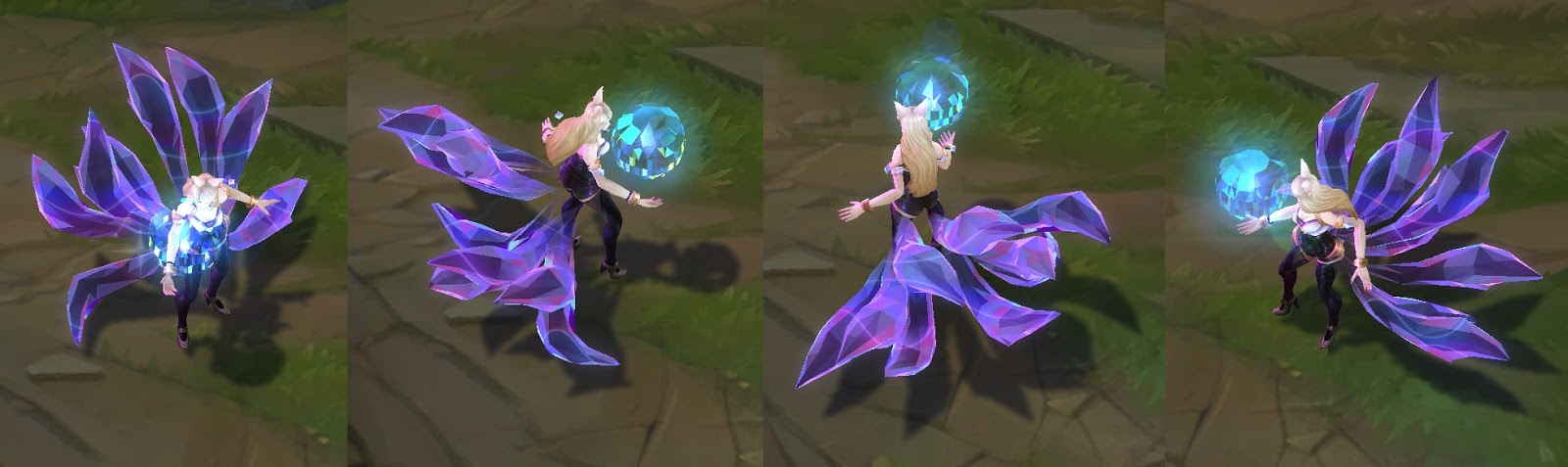 kda ahri skin for league of legends ingame picture