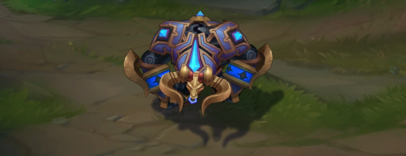 hextech alistar skin for league of legends ingame picture