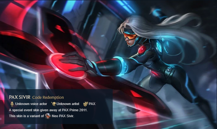 Rare Skin League of Legends