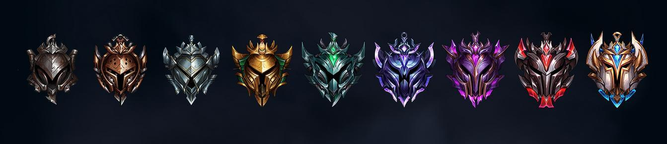 Teamfight Tactics Ranked Mode Tiers From Iron To Challenger