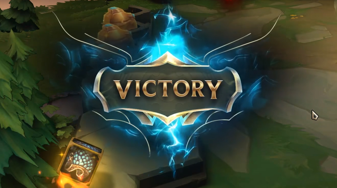 Teamfight Tactics Victory Screen
