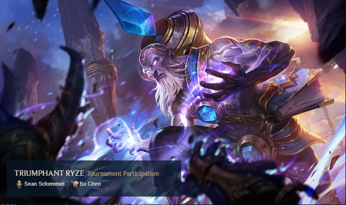 Triumphant Ryze Rare Skin League of Legends