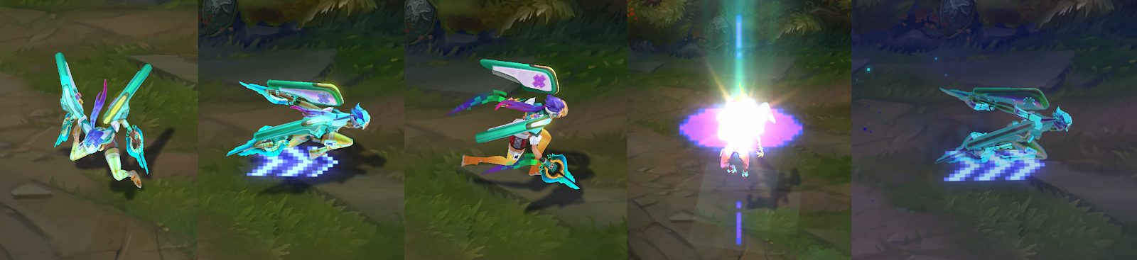 arcade kai'sa animation