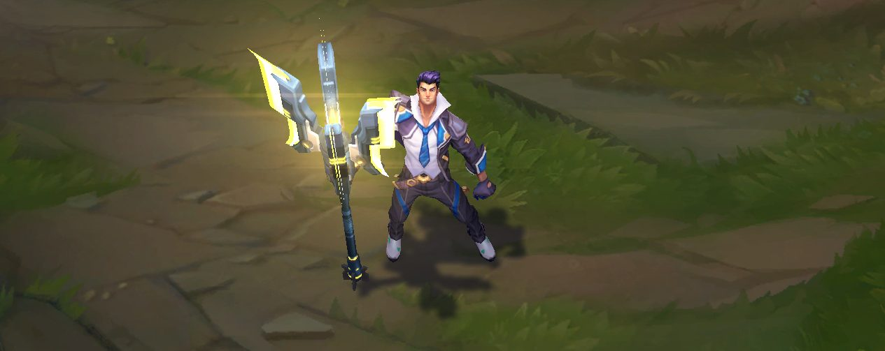 battle academia jayce skin for league of legends