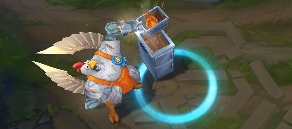 birdio skin recall animation