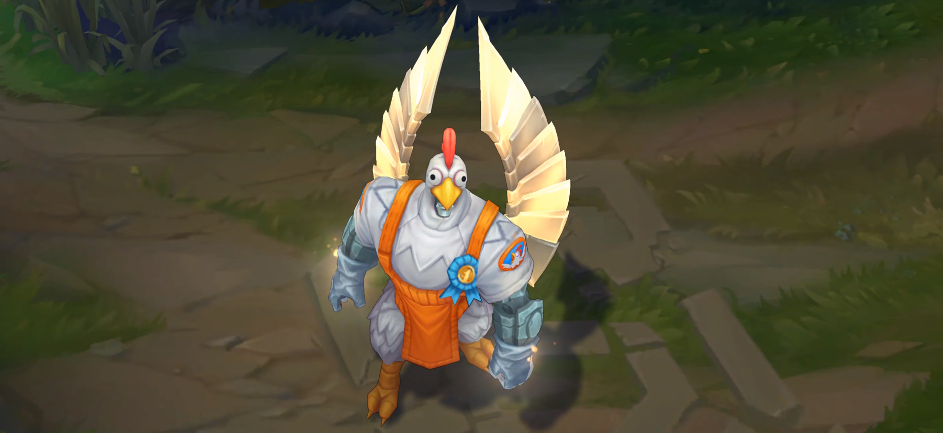 birdio skin for league of legends ingame picture