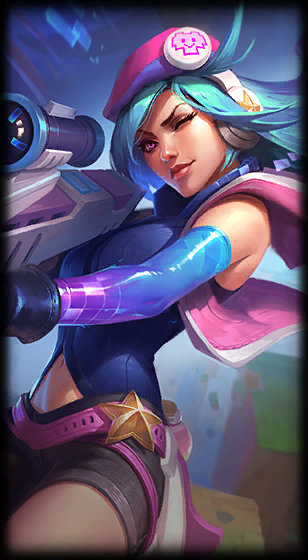 loading screen arcade caitlyn
