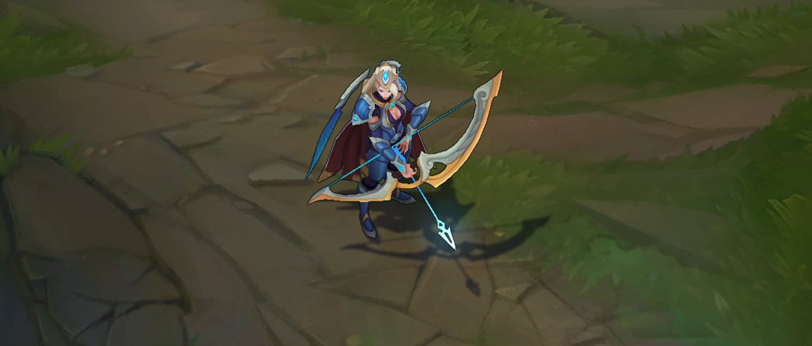 championship ashe skin for league of legends ingame picture