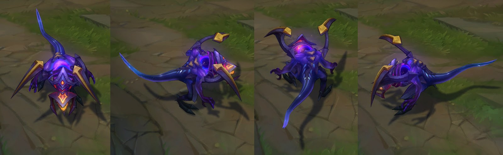 dark star chogath skin for league of legends ingame picture