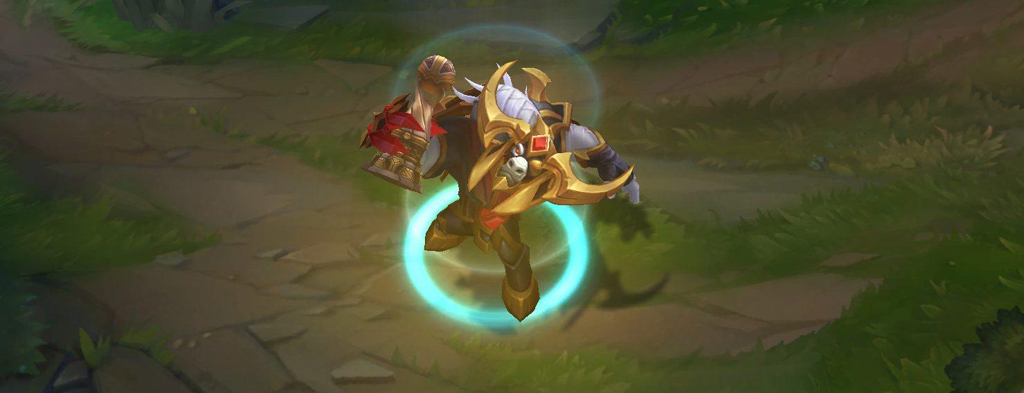 conqueror alistar skin recall animation
