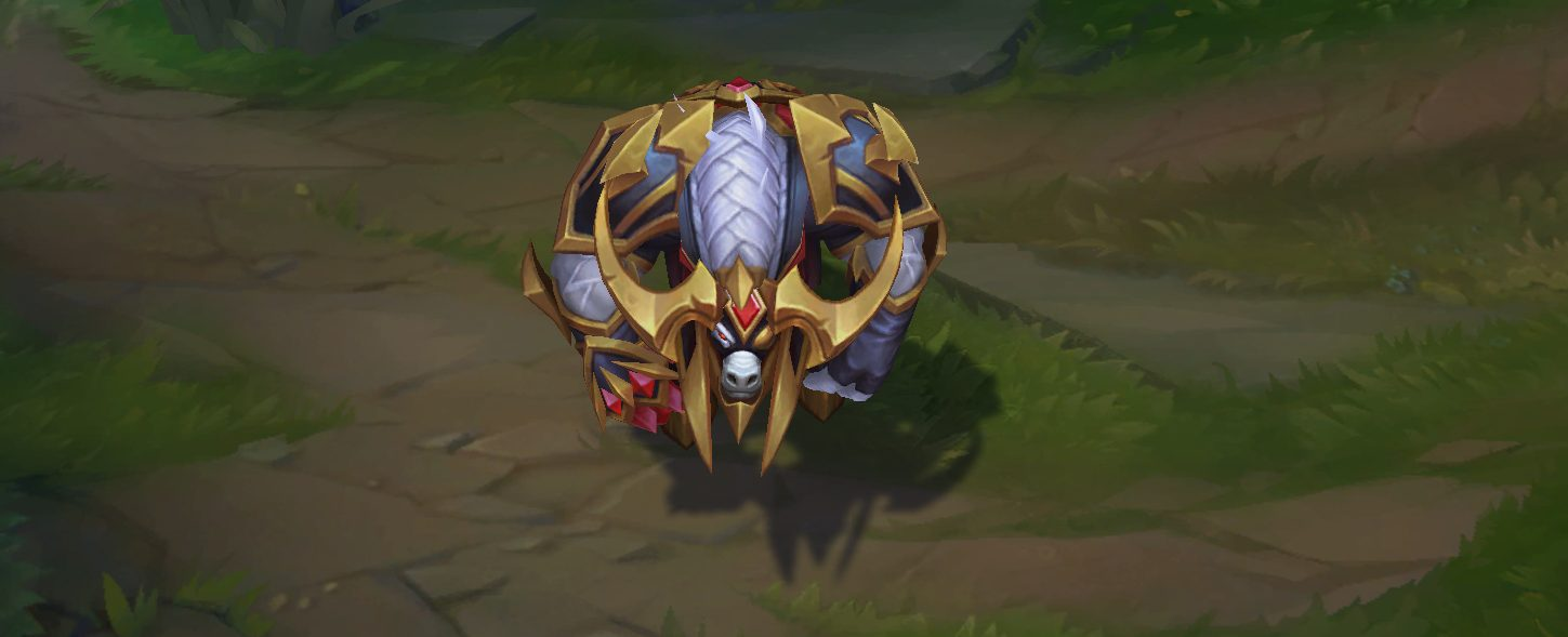 conqueror alistar skin for league of legends ingame picture