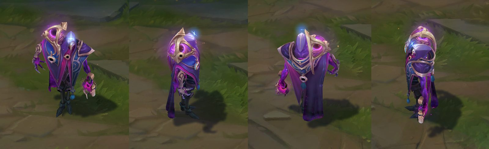 dark cosmic jhin skin for league of legends