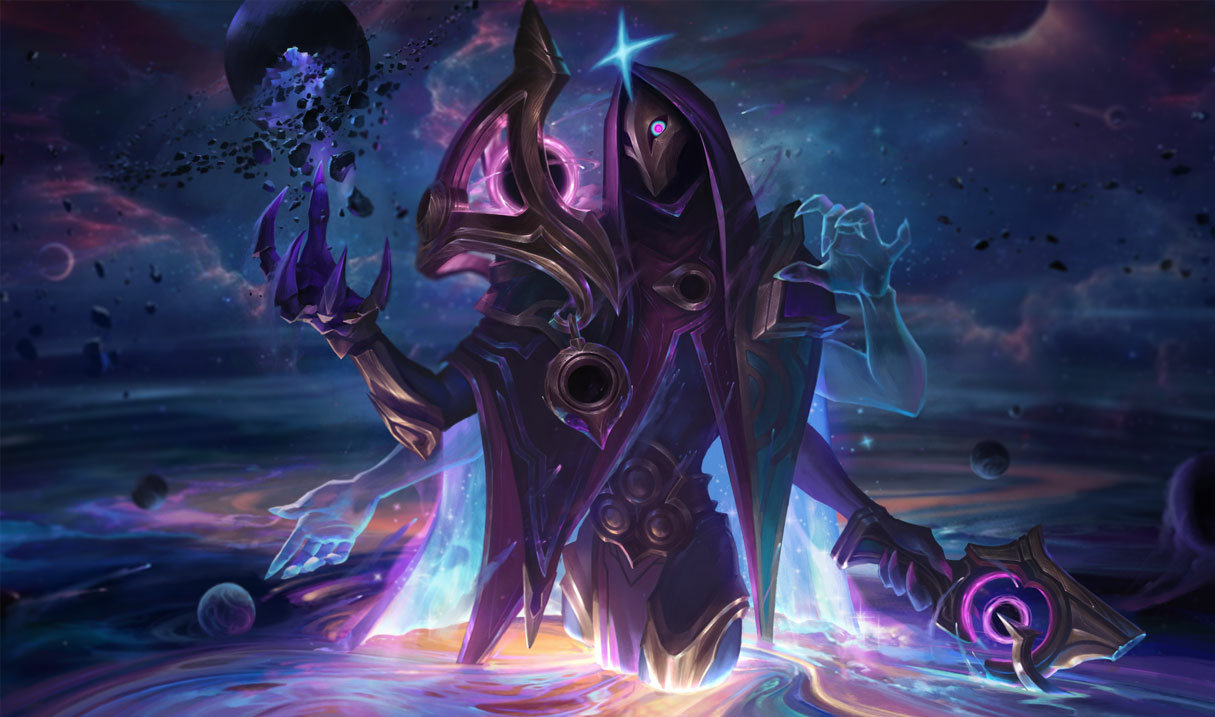 dark cosmic jhin splash art