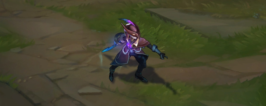 dark waters diana skin for league of legends ingame picture