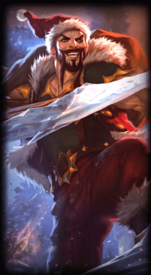 loading screen santa draven