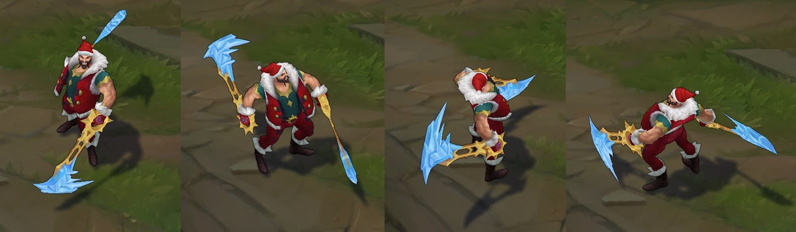 santa draven picture for league