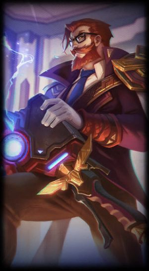 Loading screen for Battle Professor Graves