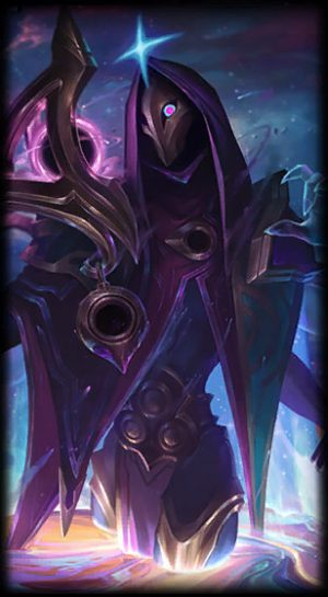 Dark cosmic Jhin load screen