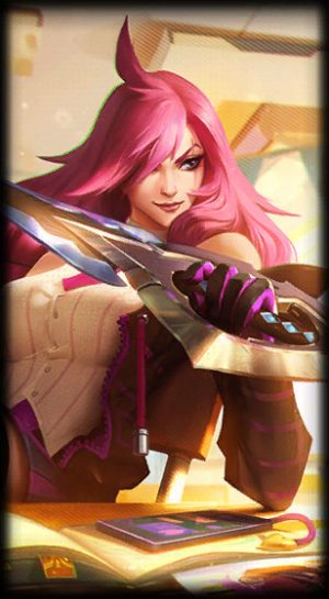 load screen battle academia katarina
