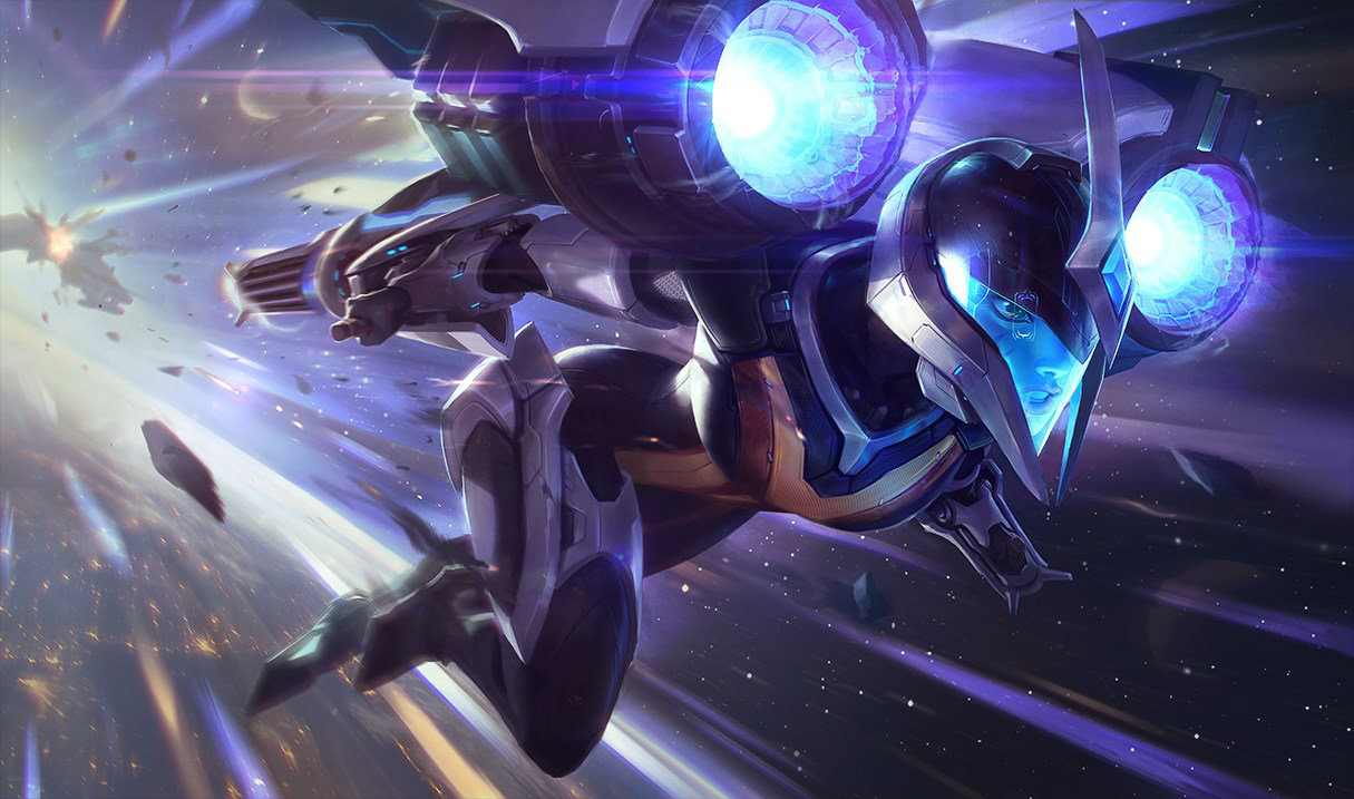 splash art bullet angel kai'sa