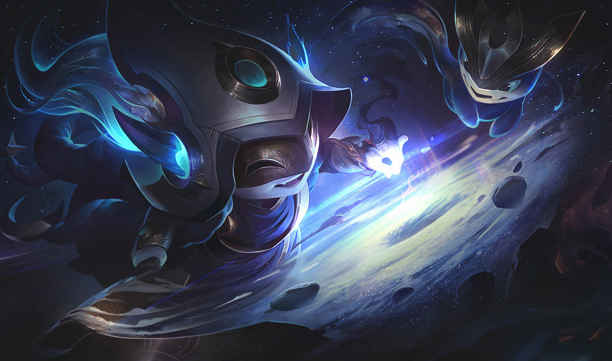 splash art cosmic enchantress lulu