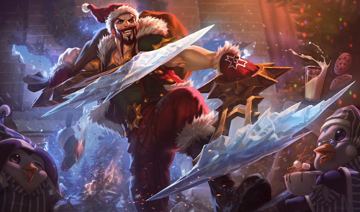 splash art santa draven