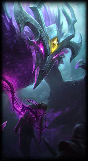 Elderwood Nocturne Chroma skin - League of Legends skin
