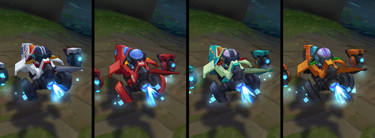 arcade corki chroma skin  pack for league of legends ingame picture