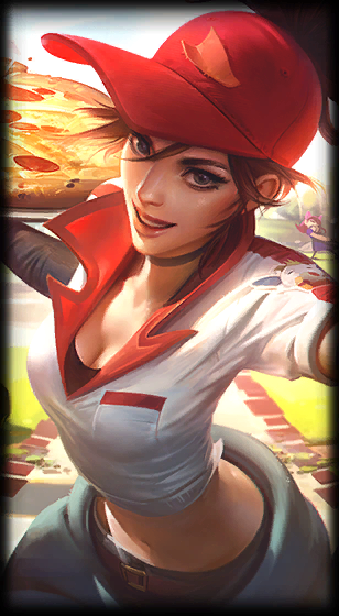 Pizza Delivery Sivir League Of Legends Skin Lol Skin