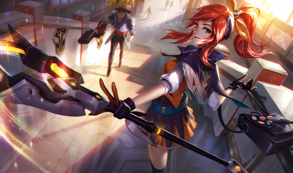 splash art battle academia lux