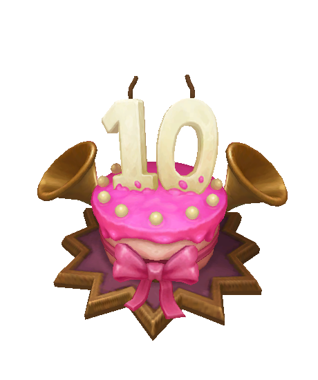 10th anniversary Ward skin for league of legends ingame picture