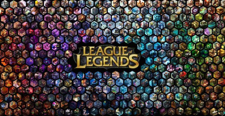 League of legends skin database