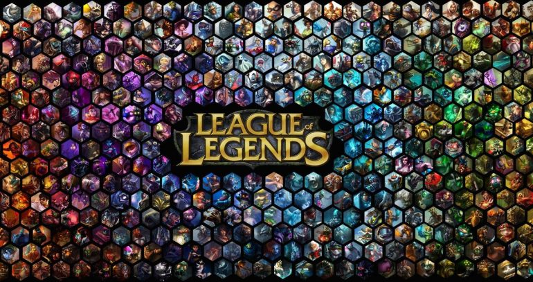 League of legends skin database