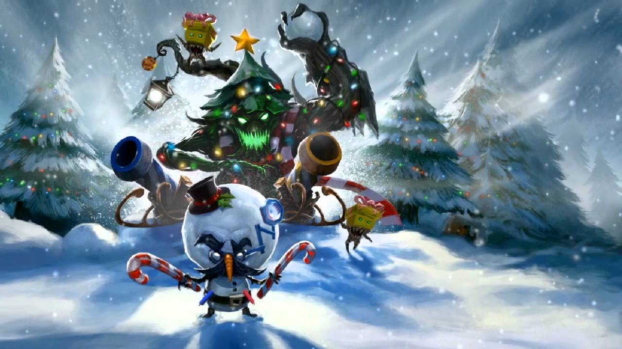 Top 5 Christmas skins for League of legends