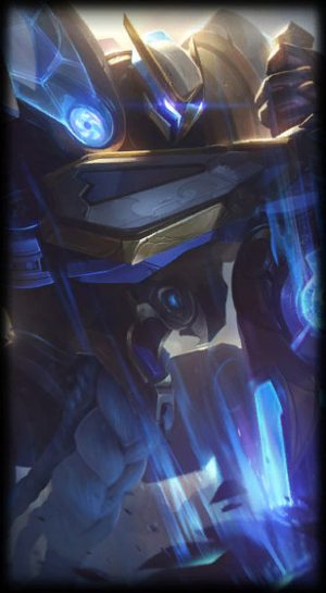 loading screen mecha kingdoms garen
