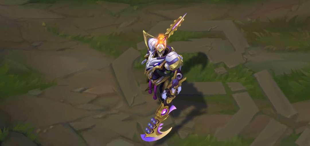 Mecha Kingdoms draven skin for league of legends ingame picture