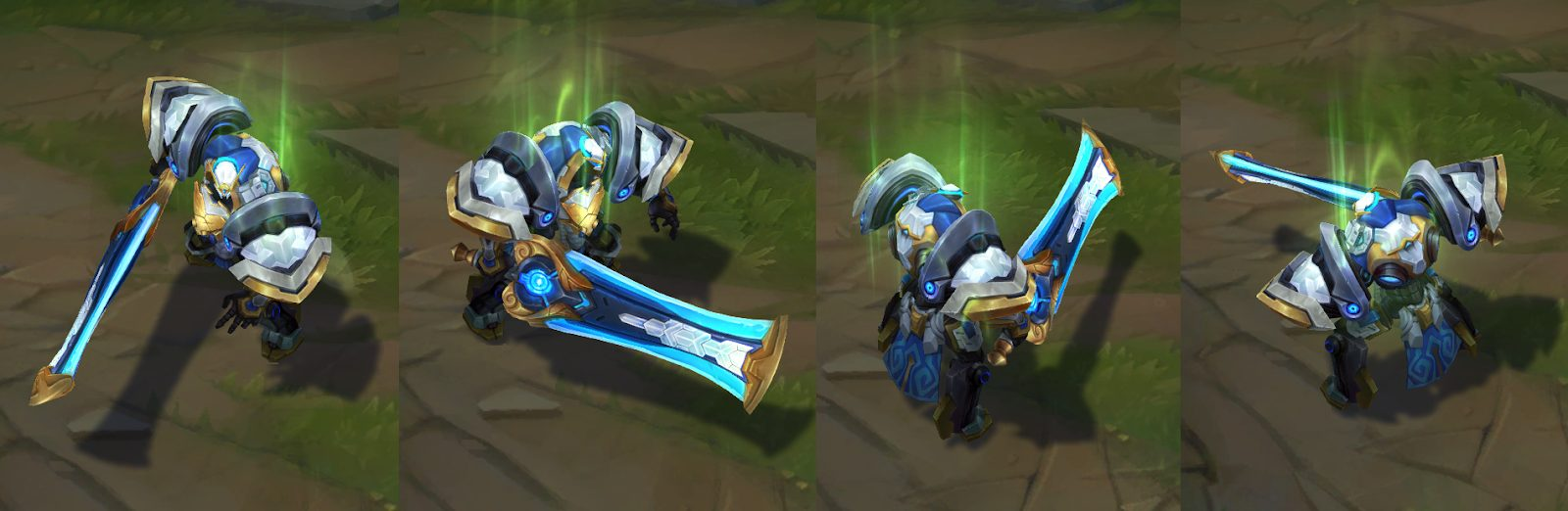 mecha kingdoms garen skin for league of legends ingame picture